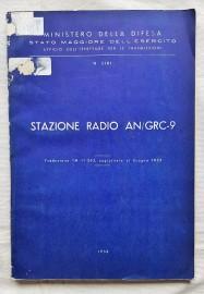 Italian manual for the AN/GRC-9.